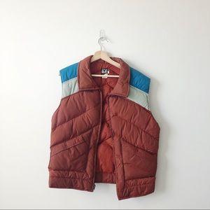 Vintage White Stag Foxfire puffer vest.